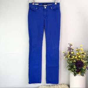 MaxMara Weekend blue slim fitw11 mid rise